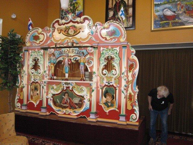 В Музее механической музыки в г. Варкаус, Финляндия