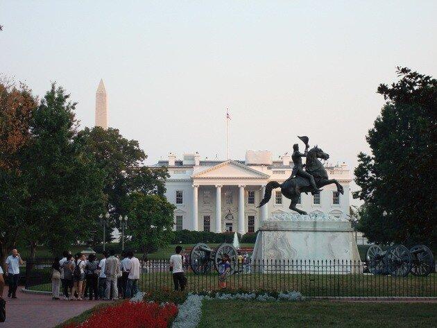 Белый дом. Вашингтон