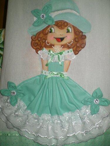 Куклы на ткани