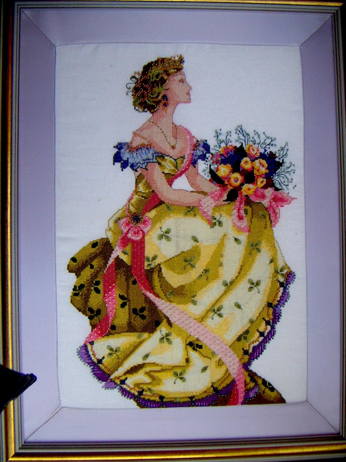 Вышивка бисером в королеве