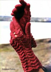 Серия сообщений.  Варежки-перчатки-митенки спицами и крючком.
