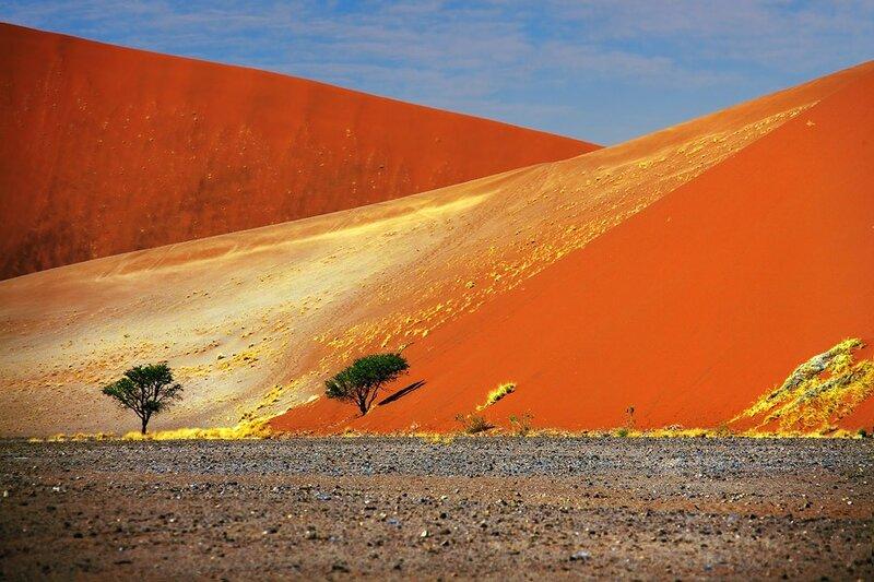 Знаменитые гигантские дюны Намибии, Соссусвлей