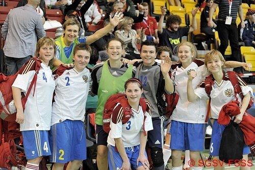 Петербургские мастера футзала – чемпионки Европы