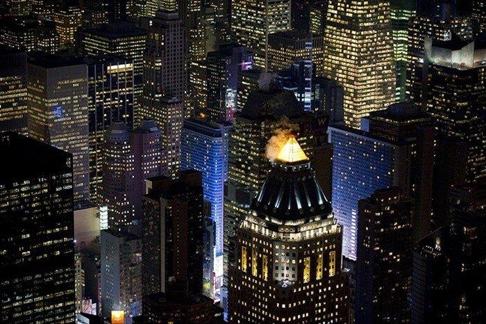 фото нью йорк ночью