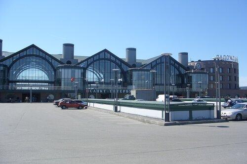 Ладожский вокзал Санкт-Петербурга