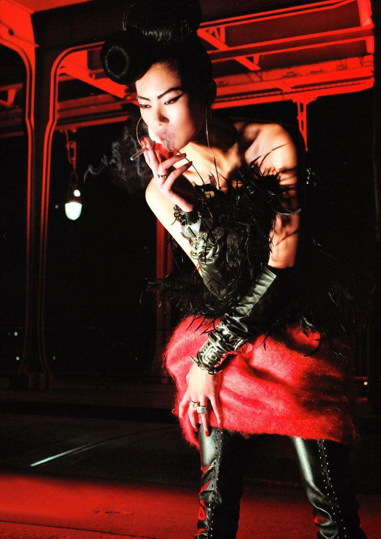Лю Вен (Liu Wen), фотограф Tiziano Magni