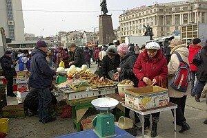 Сегодня на центральной площади Владивостока работает продовольственная ярмарка