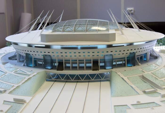 Стадион в Санкт-Петербурге к Чемпионату мира 2018