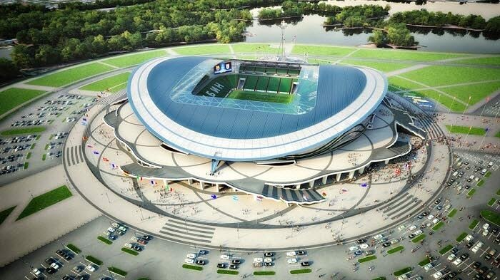 Стадион в Казани к Чемпионату мира 2018