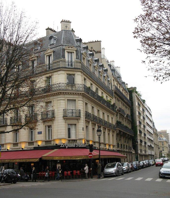 Площадь Клемансо, Париж