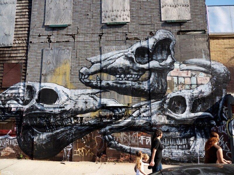 graffiti art Roa