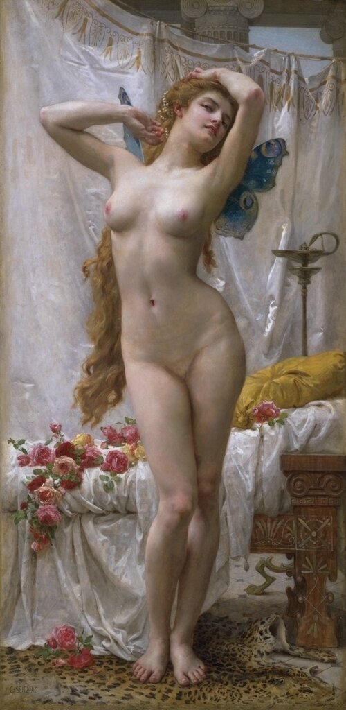 Guillaume Seignac (1870-1924) The Awakening of Psyche