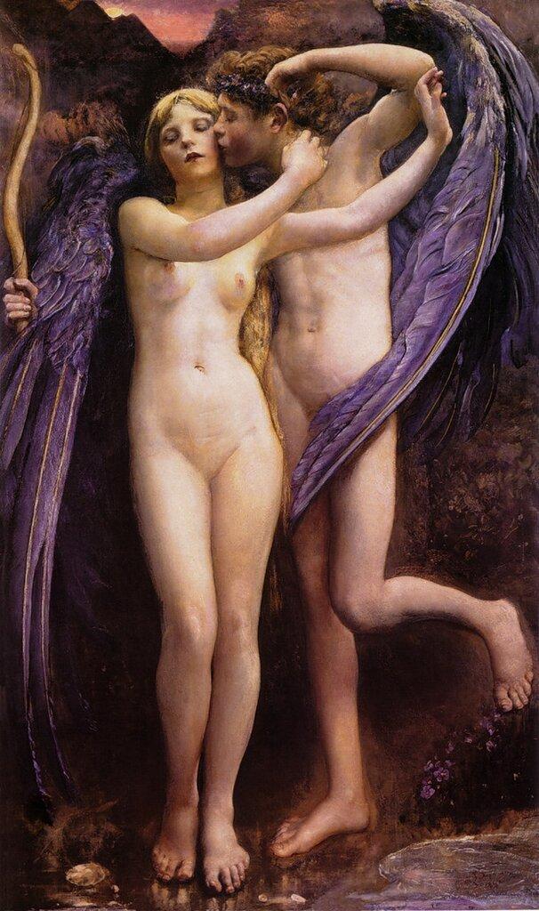 Annie Swynnerton Cupid and Psyche 1891