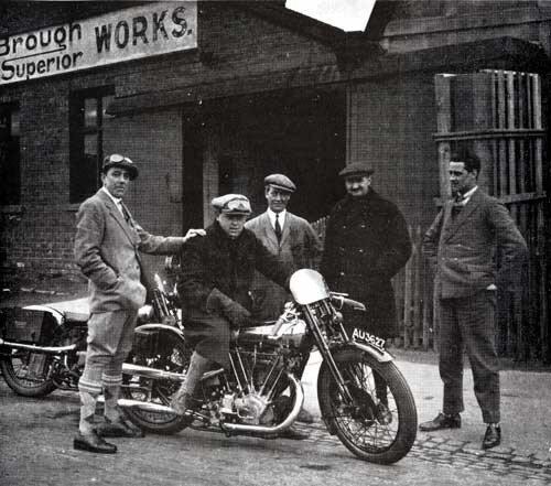 Brough Superior 1954