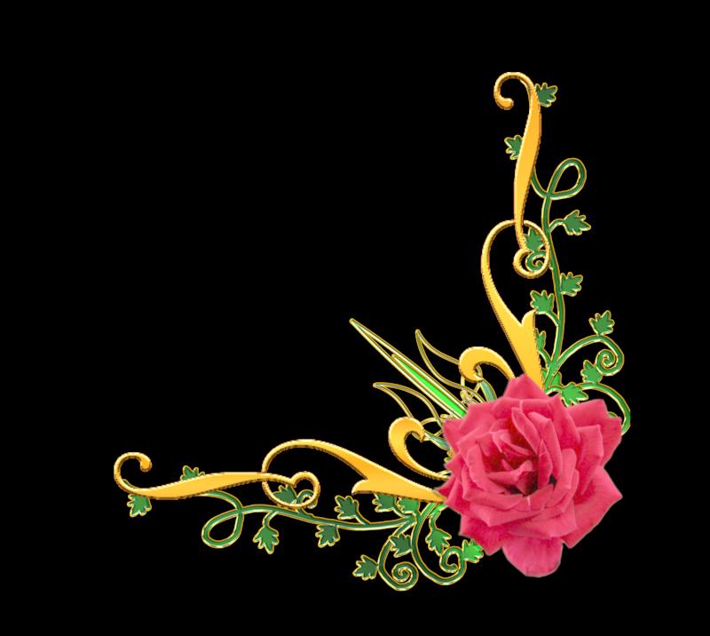 Цветы уголком картинки 4