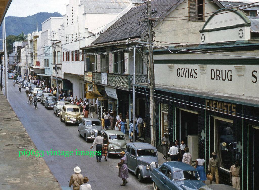 1950-е Тринидад Фредерик стрит.JPG