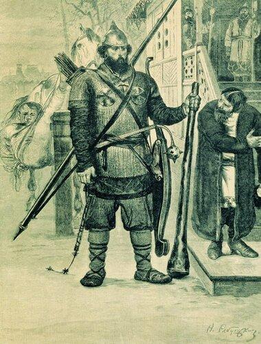 Картина русского художника Андрея Рябушкина