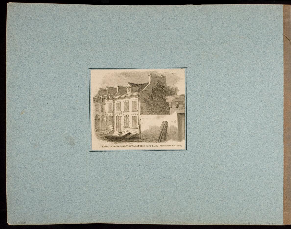 Harold's House, near the Washington Navy-Yard.