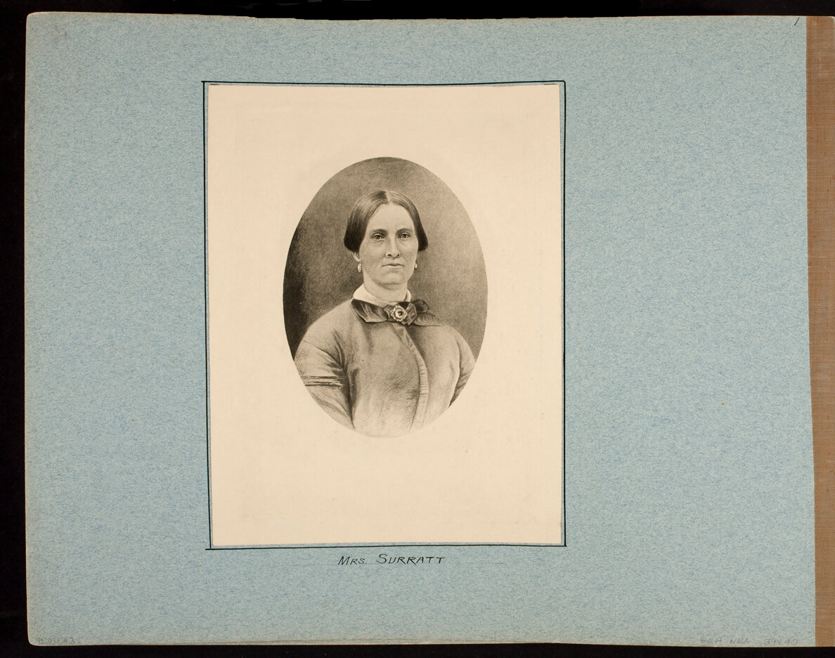 Mrs. Surratt (Photographic copy of drawing)