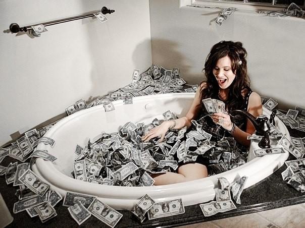Деньги приносят счастье