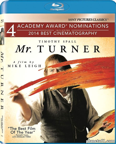 Уильям Тёрнер / Mr. Turner (2014/BDRip/HDRip)