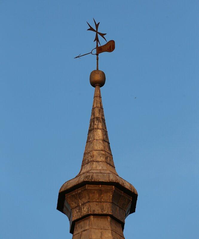 Сарагоса. Церковь Святого Иоанна (Iglesia de San Juan de los Panetes). Флюгер