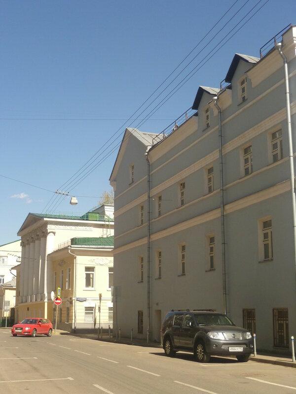 Сверчков переулок.