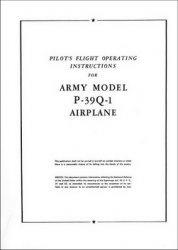 Книга Pilot's Manual Bell P-39Q-1