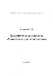 Книга Практикум по дисциплине Математика для экономистов