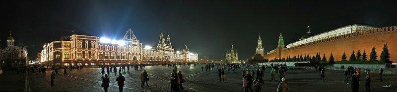 Красная площадь. Москва.
