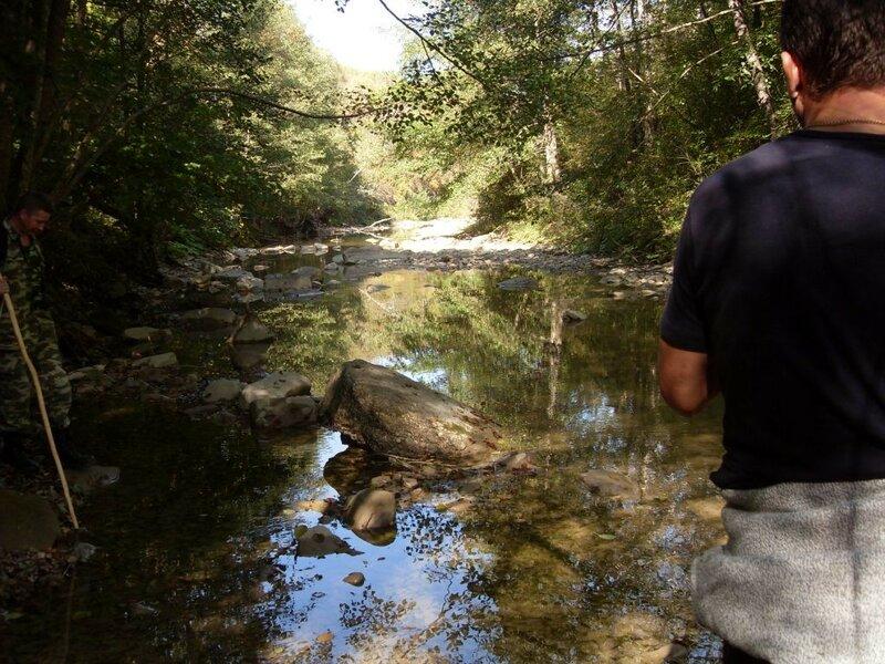 На реке ...11 октября 2008, под Горячим Ключом, лес... (57).JPG