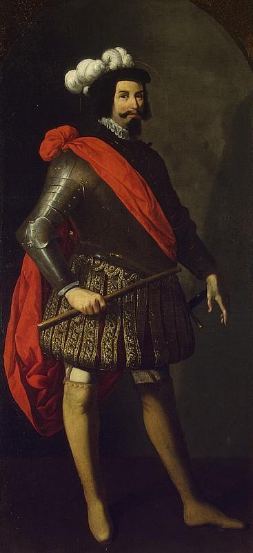 Франсиско де Сурбаран, Король Св. Фернандо III, 1630, Эрмитаж