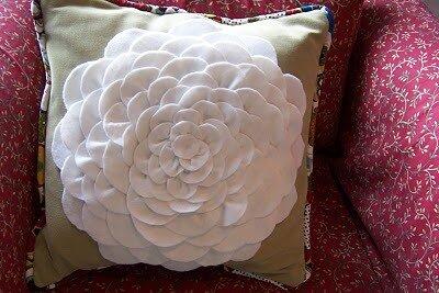 декор подушки хендмейд фото
