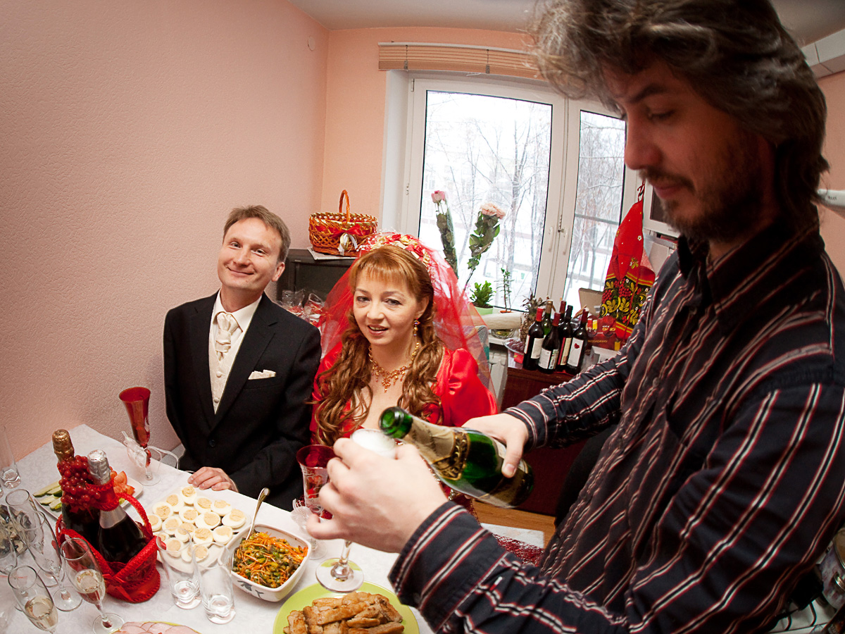 фотограф со свадьбы в Москве