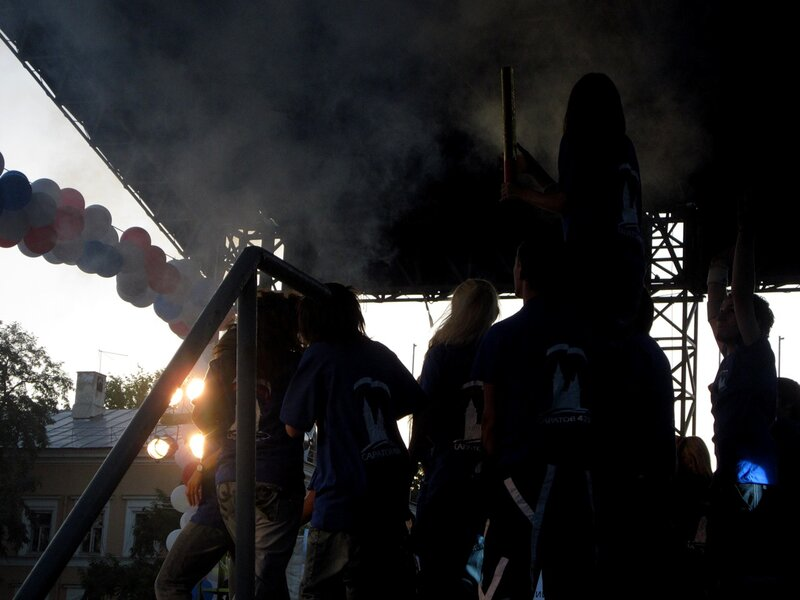 Праздник города Саратова на стадионе 'Динамо';