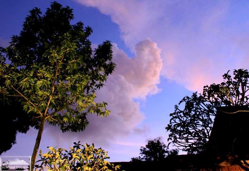 Закат у Вивик