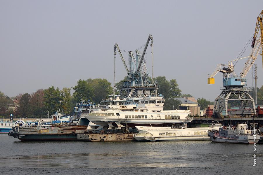 Грузовой порт Казани