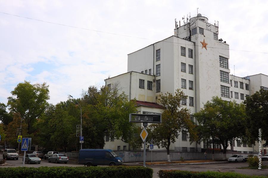 Бывшее здание штаба Приволжского (Приволжско-Уральского) военного округа (ПРИВО, ПУРВО)