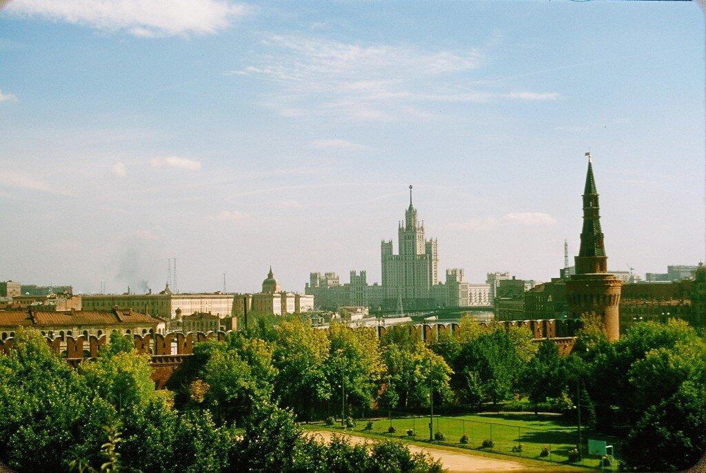 Москва, 1956 год. Фото Jacques Dupâquier