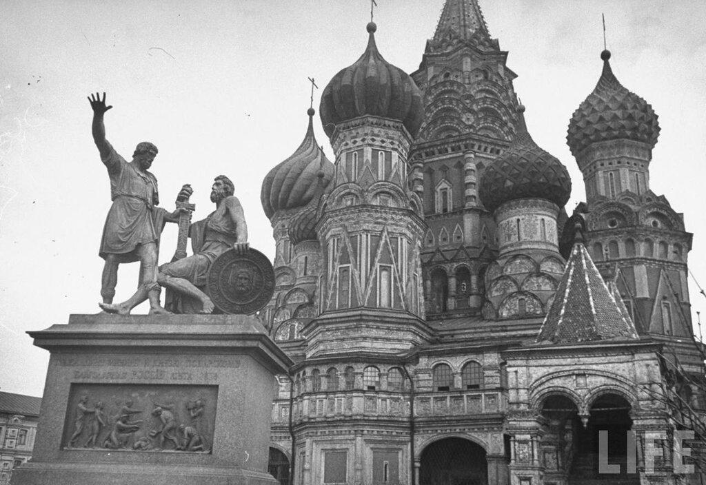 Василий Блаженный, май 1947, фото Thomas D. Mcavoy