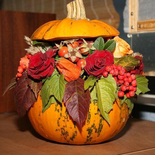 Осенняя тыква своими руками - Wheelavenue.ru