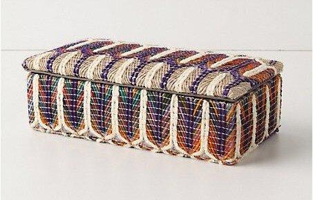 Шкатулки обтянутые тканью