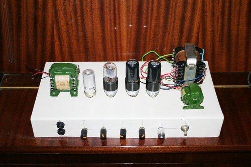Ламповый усилитель своими руками для электрогитары