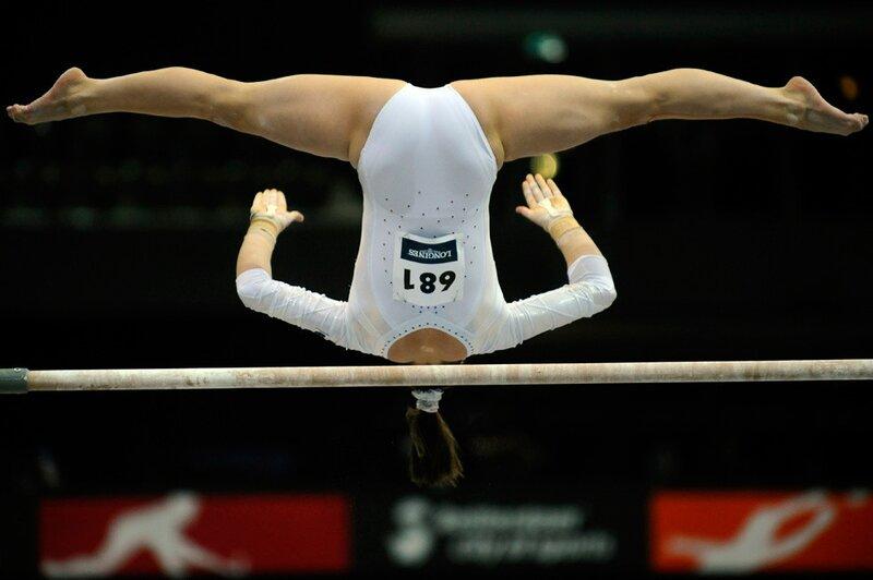 где голова у румынской спортсменки