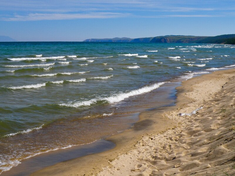 Бухта Песчаная на Ольхоне