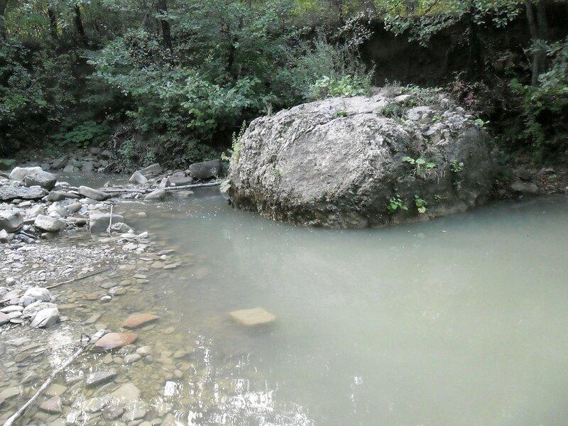 Горячий Ключ, на реке Каверзе
