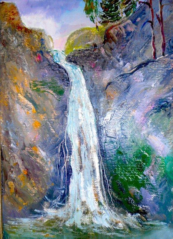 Водопад в Макараке