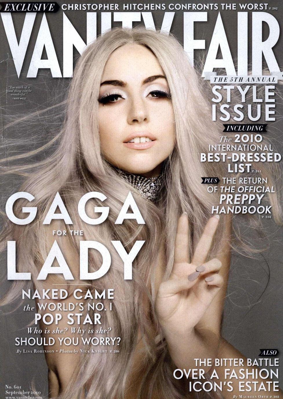 Леди Гага / Lady Gaga by Nick Knight in Vanity Fair