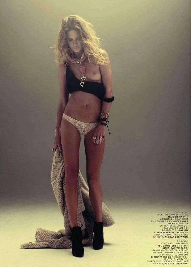 модель Erin Wasson / Эрин Воссон, фотограф Mason Poole