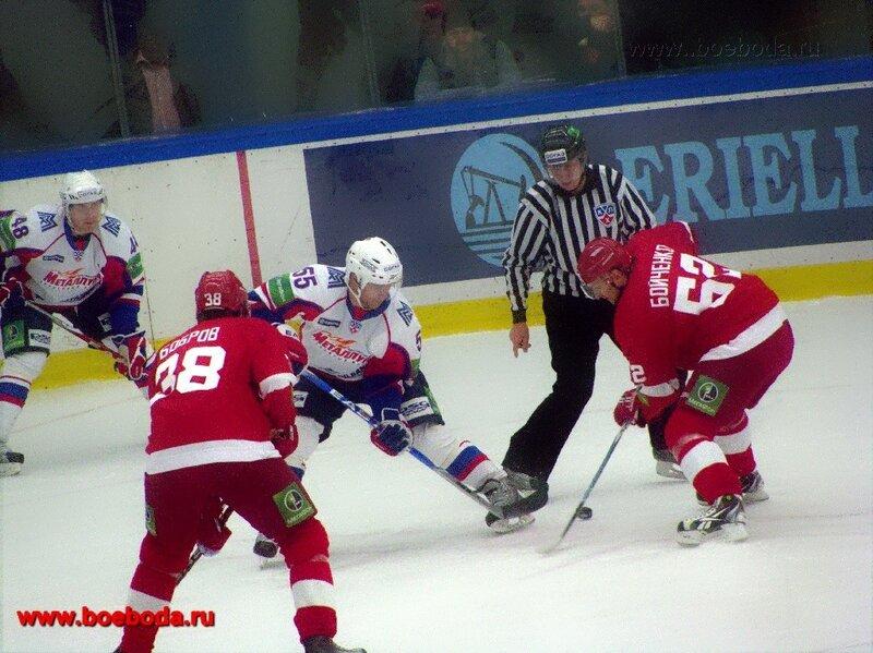 Фото с матча Витязь - Металлург (Магнитогорск)